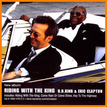 B.B. King & E.Clapton - Riding With The King CD