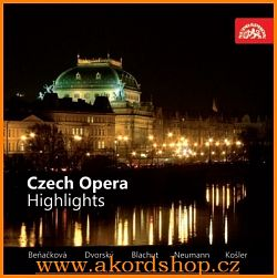 Czech opera - Highlights CD