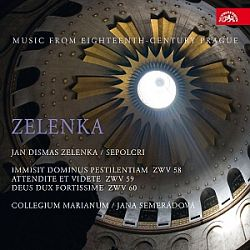 Jan Dismas Zelenka - Sepolcra CD