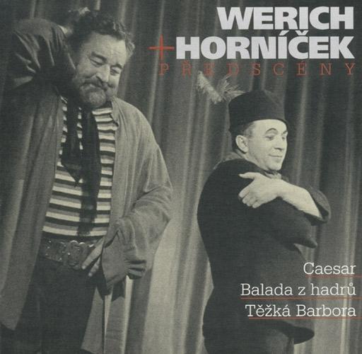 Jan Werich a Miroslav Horníček - Předscény 2CD