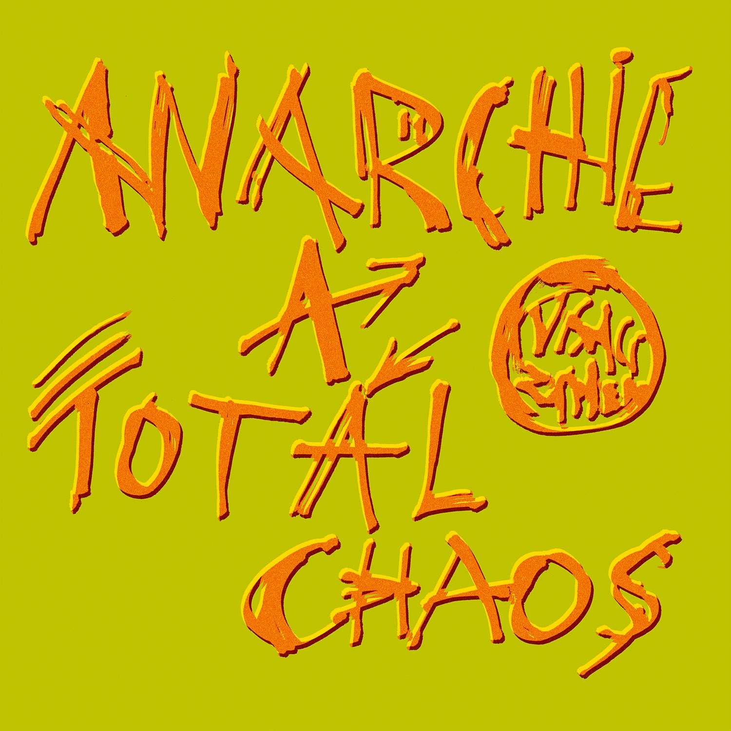 Visací Zámek - Anarchie a total chaos CD