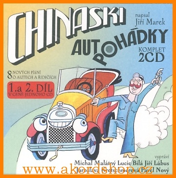Chinaski - Autopohádky 1+2