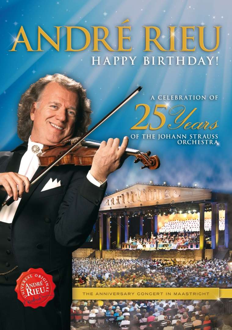 André Rieu - Happy Birthday! DVD