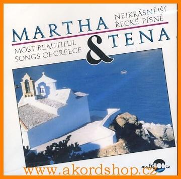 Martha & Tena - Nejkrásnější řecké písně CD