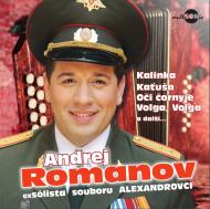 Andrej Romanov - Nejkrásnější ruské písně a romance CD