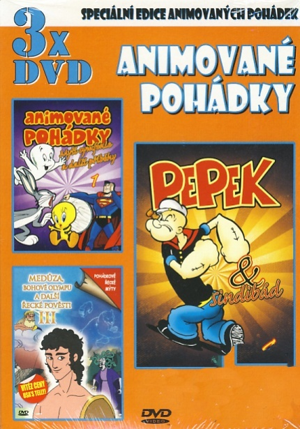 Animované pohádky - Pepek a Sindibád