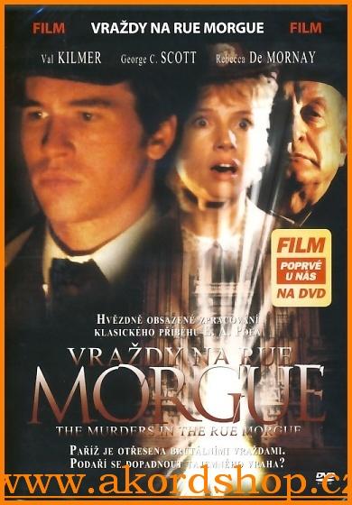 Vraždy na Rue Morgue DVD