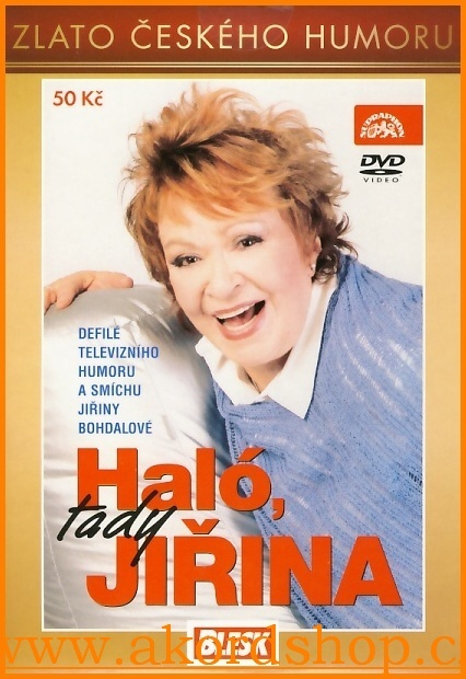 Haló, tady Jiřina DVD