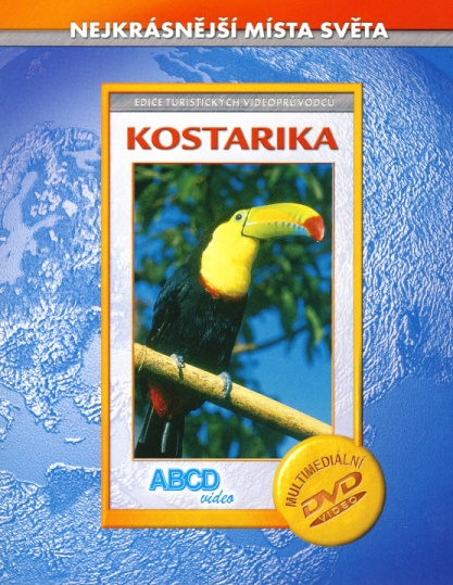 Kostarika - Nejkrásnější místa světa DVD