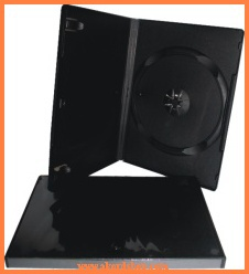 Obal na DVD/CD - 14mm/černý