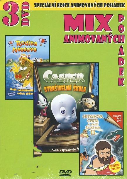 Mix animovaných pohádek - Casper - Stašidelná škola