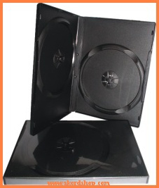 Obal na 2DVD/CD - 14mm/černý