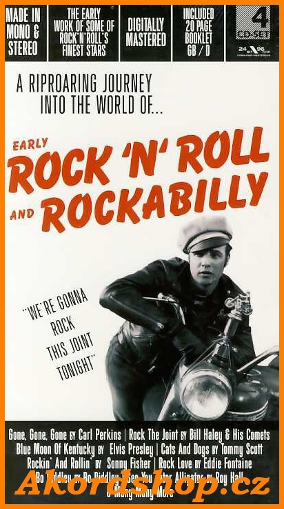 Rock´N' Roll And RockaBilly 4CD