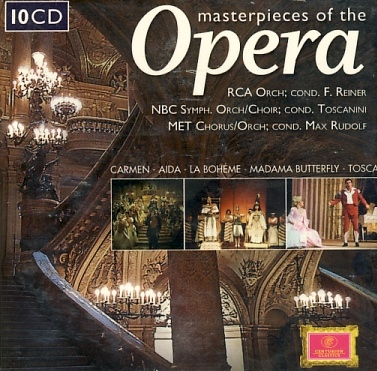 Masterpieces Of The Opera 10CD