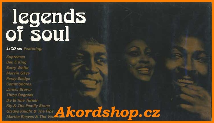 Legends Of Soul 4CD