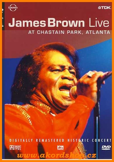 James Brown - Live AT Chastain Park, Atlanta DVD