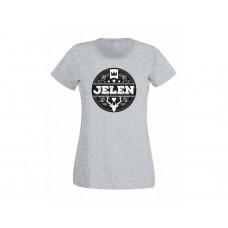 Jelen - Tričko dětské šedé