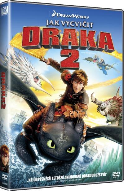 Jak vycvičit draka 2 DVD (Dreamworks)