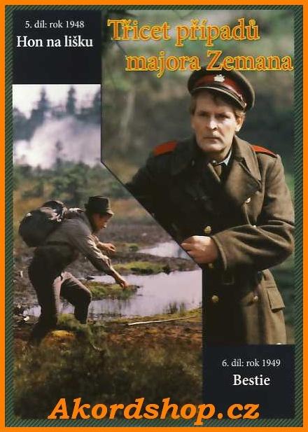 Třicet případů majora Zemana 5 + 6 díl DVD