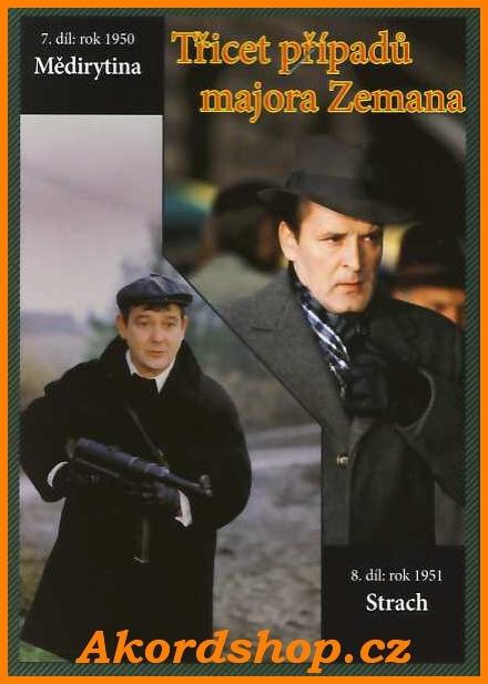Třicet případů majora Zemana 7 + 8 díl DVD