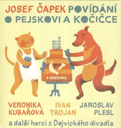 Povídání o pejskovi a kočičce (Josef Čapek) CD/MP3