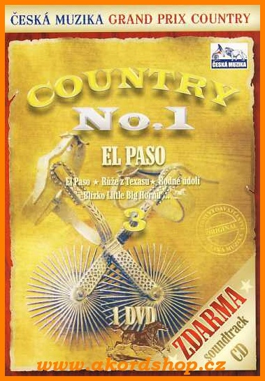 Country No.1 - El Paso CD/DVD