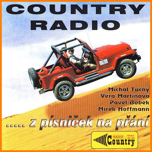 Country rádio CD