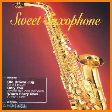 Sweet saxophone CD