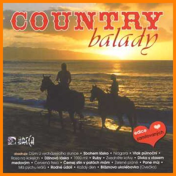 Country balady CD