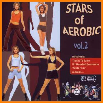 Stars Of Aerobic 2 - With the Beatles  CD