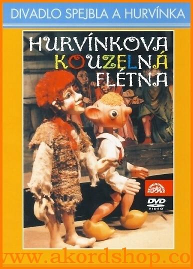 Hurvínkova kouzelná flétna DVD (Pošetka)