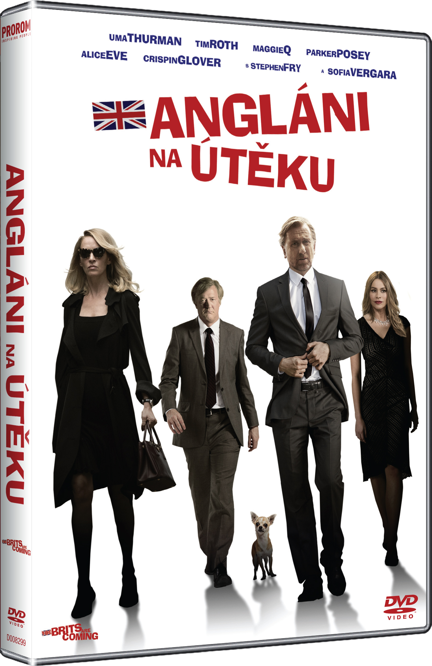 Angláni na útěku DVD