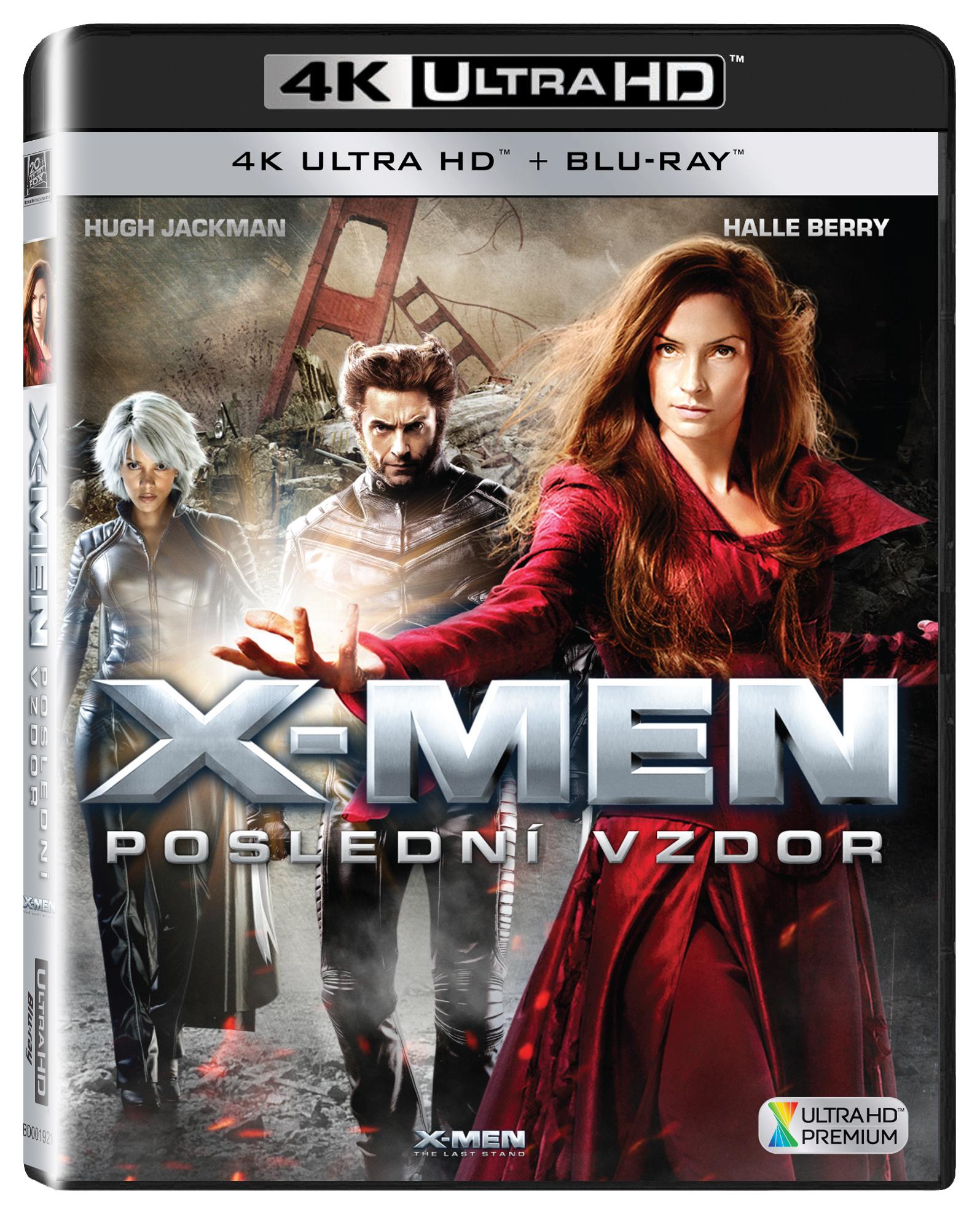 X-Men - Poslední vzdor UHD/Blu-Ray
