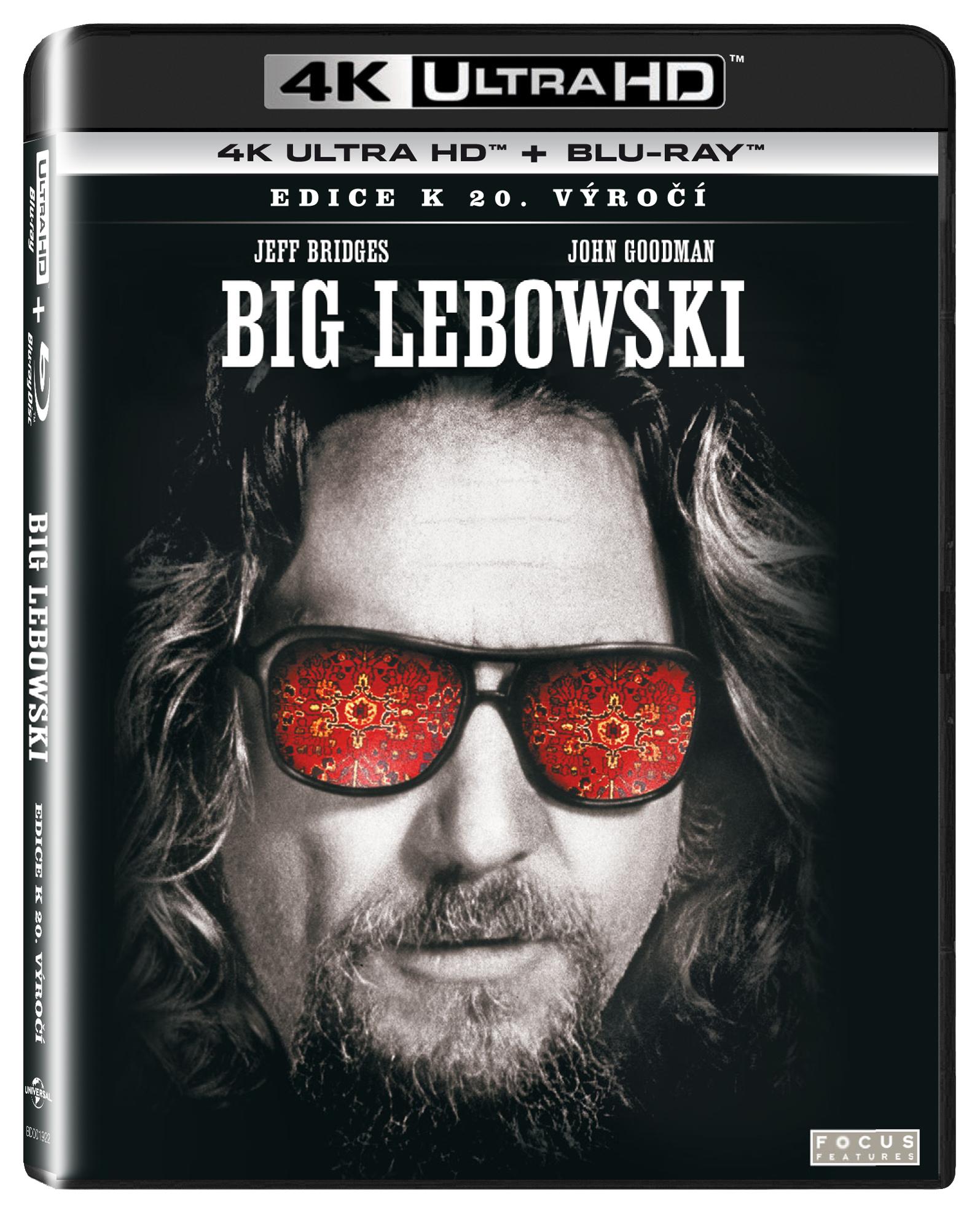 Big Lebowski (edice k 20. výročí) UHD/Blu-Ray