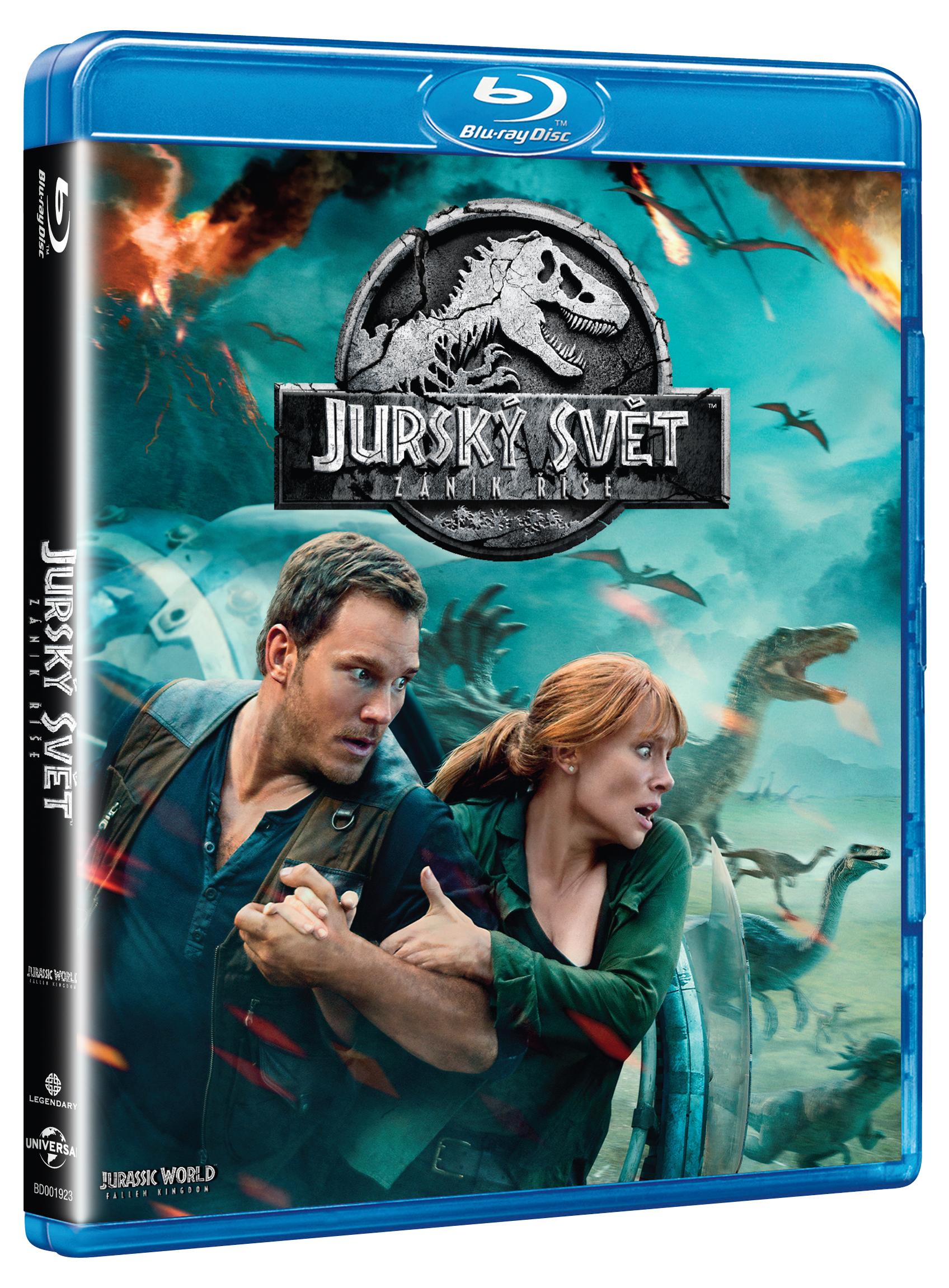 Jurský svět - Zánik říše Blu-Ray