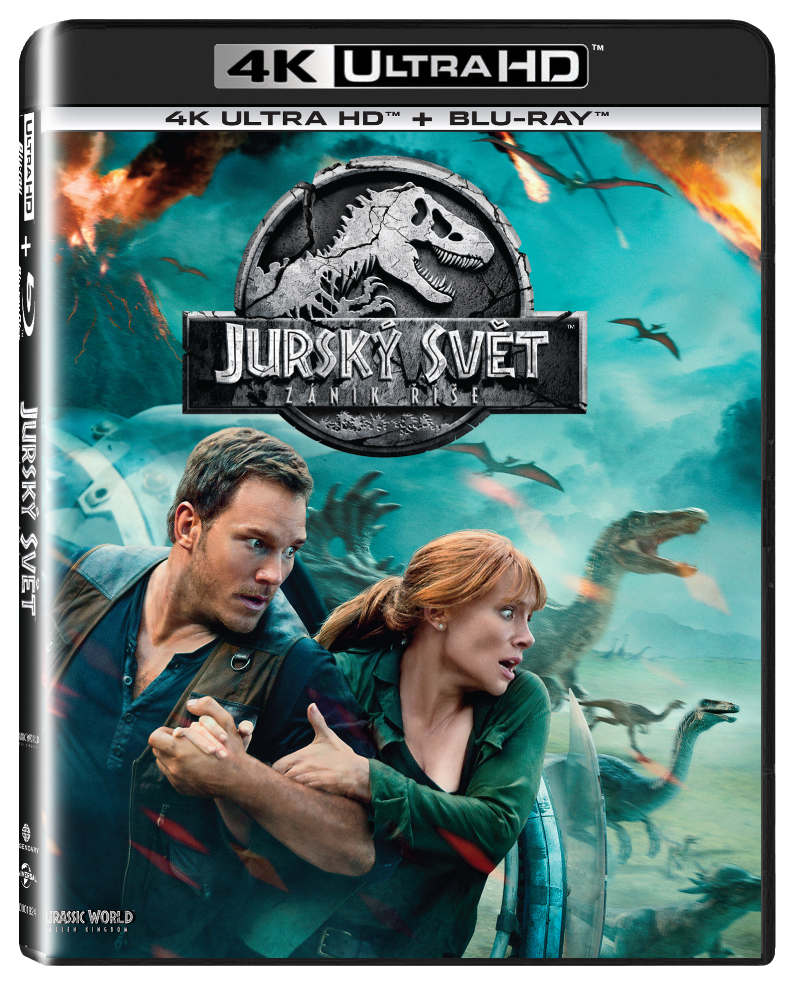 Jurský svět - Zánik říše UHD/Blu-Ray