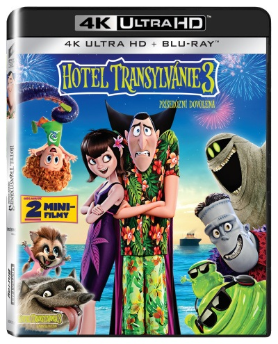 Hotel Transylvánie 3 - Příšerózní dovolená UHD/Blu-Ray