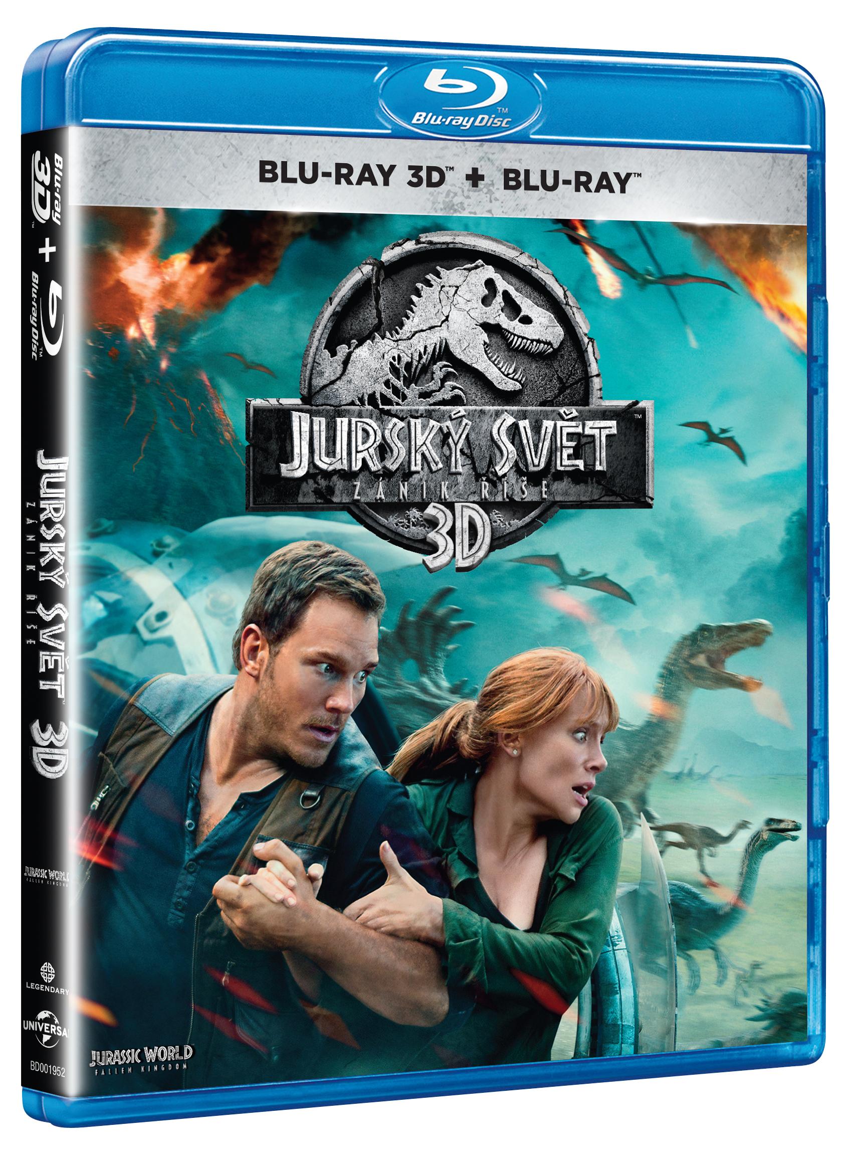 Jurský svět - Zánik říše Blu-Ray (3D+2D)