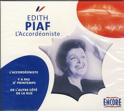 Edith Piaf - L´Accordéoniste
