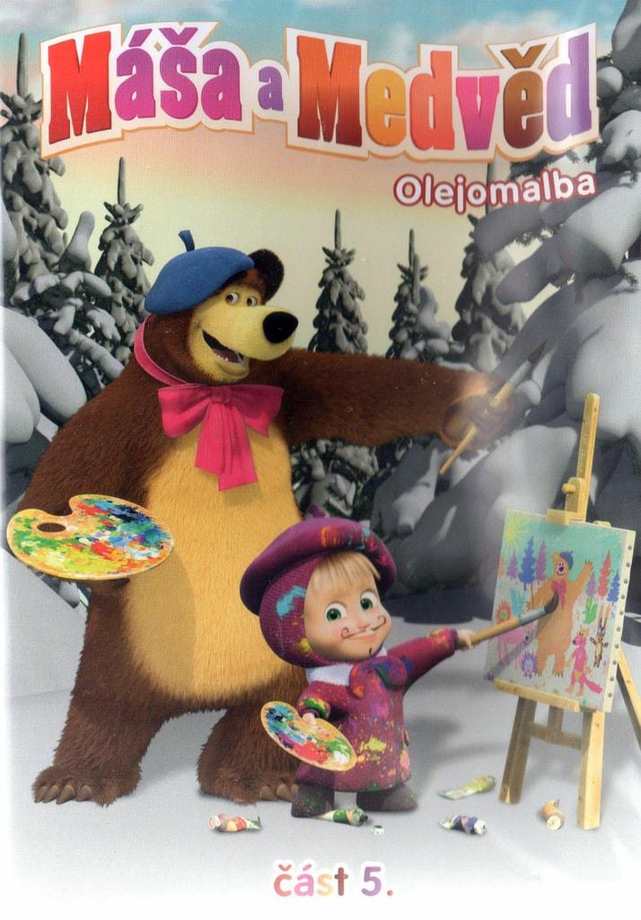 Máša a Medvěd 5 - Olejomalba DVD