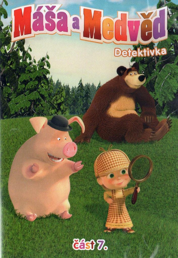 Máša a Medvěd 7 - Detektivka DVD