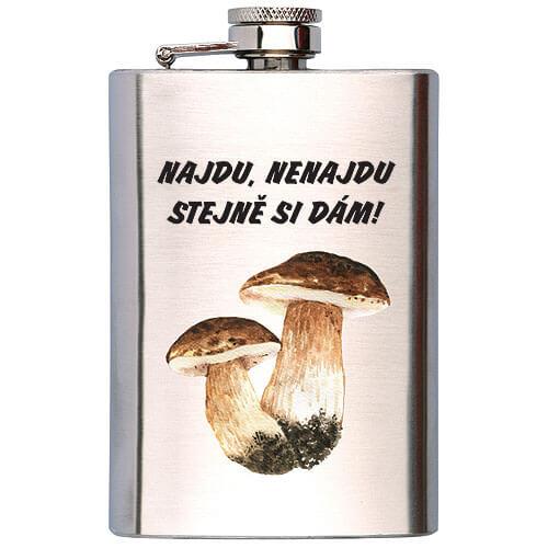 Placatka na alkohol 200 ml - Pro houbaře
