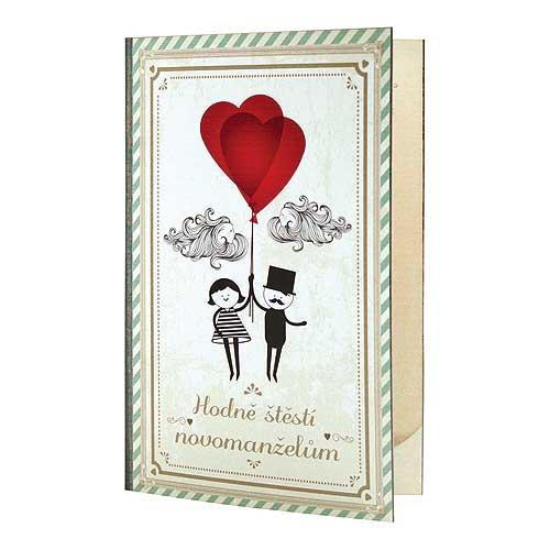 Dárkové balení ke svatbě - Pro ni, pro něj