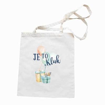 Plátěná látková taška pro miminko - Je to kluk