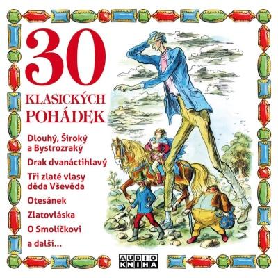 30 klasických pohádek CD/MP3