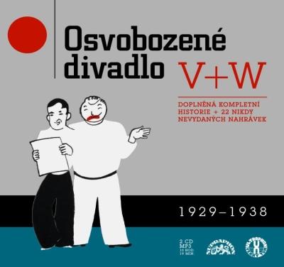 Jan Werich, Jiří Voskovec - Osvobozené divadlo 2CD/MP3
