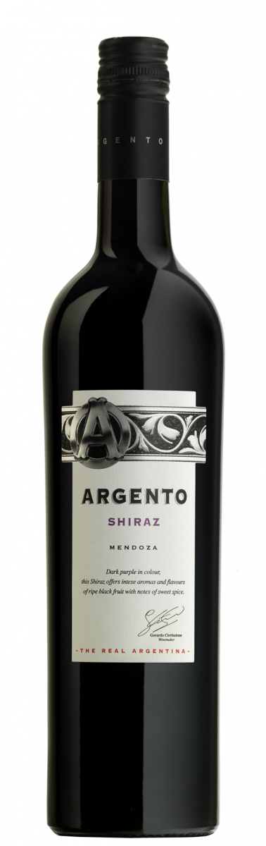 Argento Shiraz 2014 (Argento Wine Company)