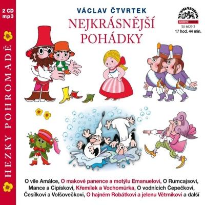 Nejkrásnější pohádky (Václav Čtvrtek) 2CD/MP3