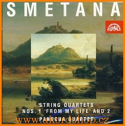 Bedřich Smetana - String Quartets Nos.1 CD and 2 CD