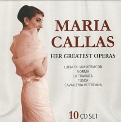 Maria Callas - Her Greatest Operas 10CD